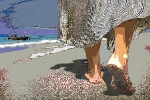 sand under your feet